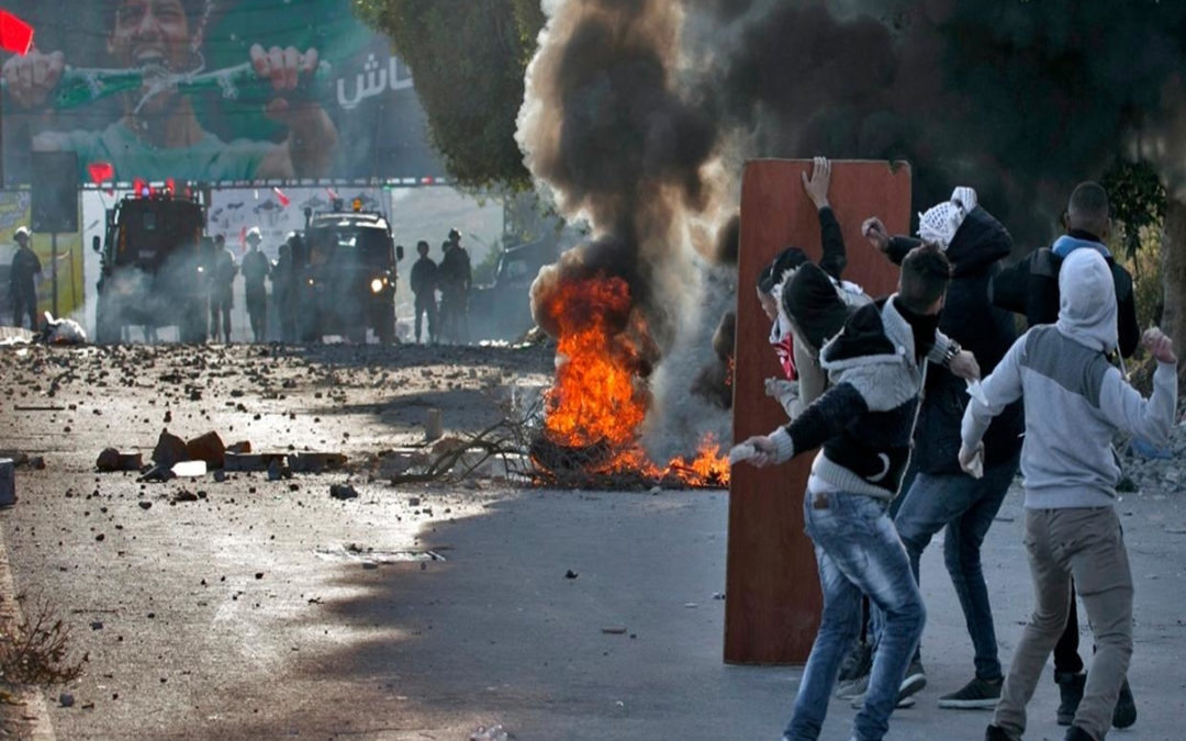 """مواجهات في الضفة الغربية خلال مسيرات منددة بـ""""صفقة القرن"""""""
