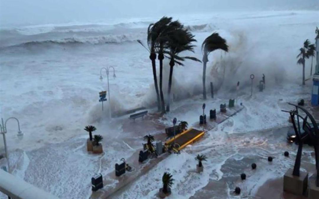 ارتفاع حصيلة ضحايا العاصفة غلوريا في إسبانيا إلى 11 قتيلا