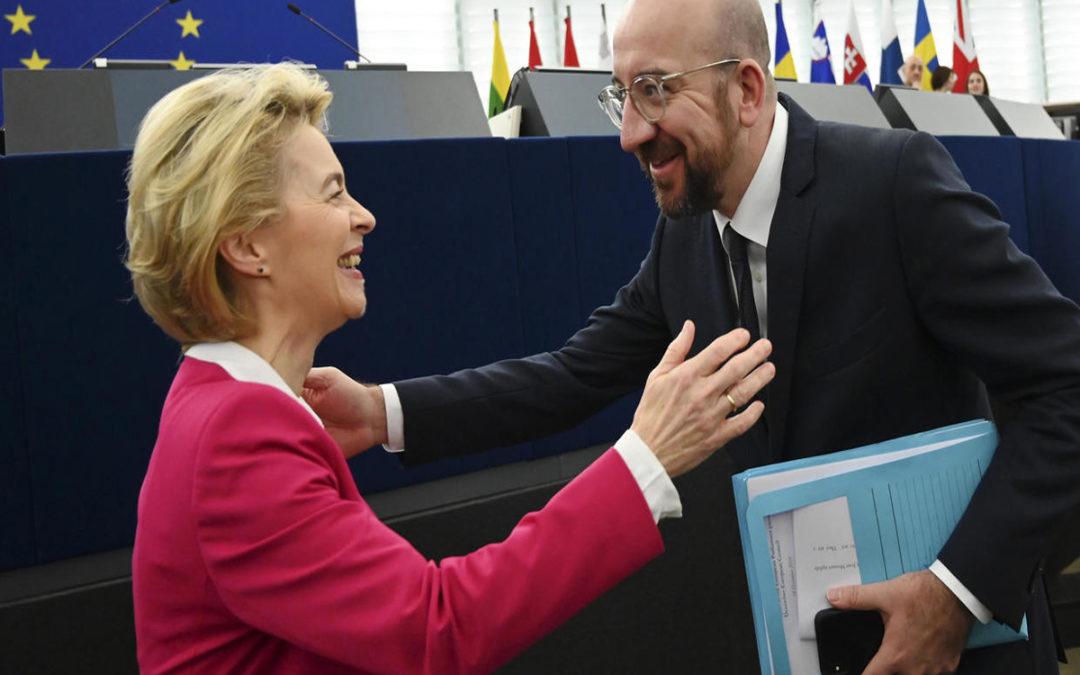 رئيسا المفوضية والمجلس الأوروبيين وقعا اتفاق بريكست