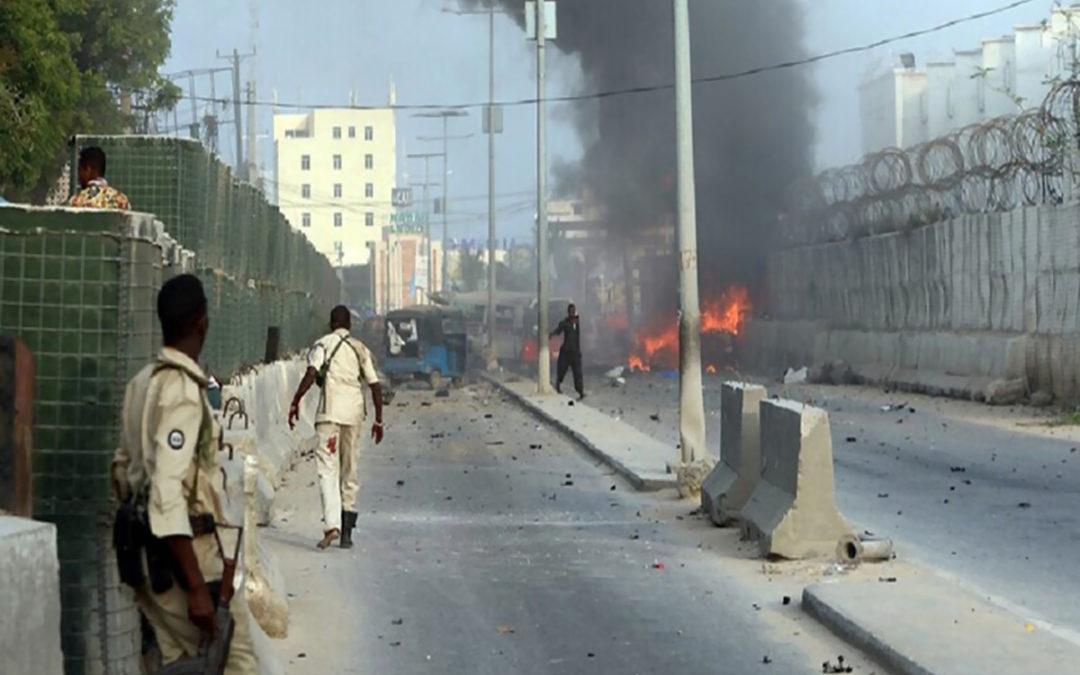 دوي انفجار قوي عند تقاطع مزدحم في مقديشو