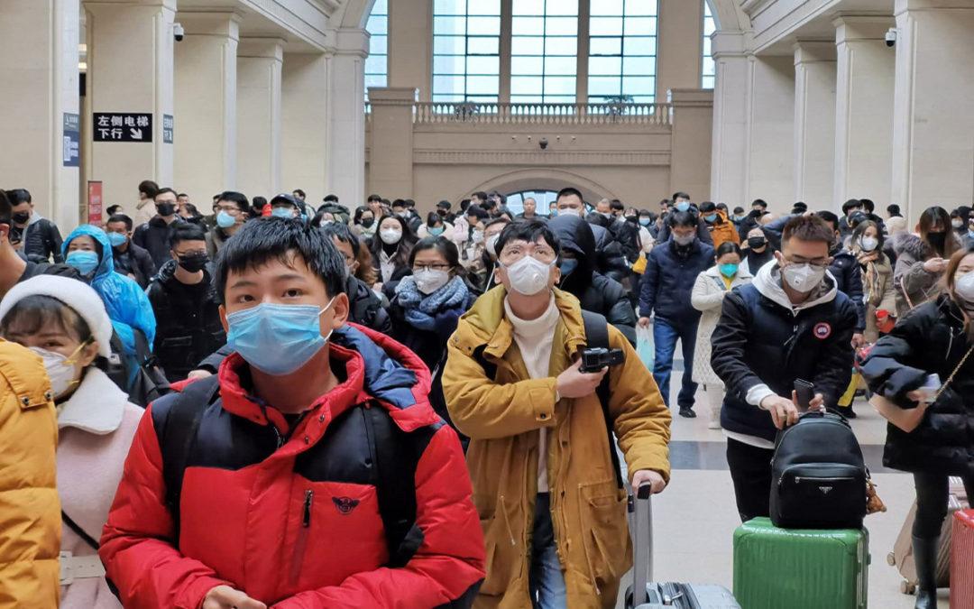 منغوليا اغلقت حدودها مع الصين وعلقت الدراسة