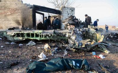 مصرع 170 شخصا في تحطم طائرة الركاب الاوكرانية في طهران