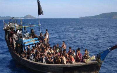14 قتيلا في غرق سفينة للاجئين الروهينغا في بنغلادش
