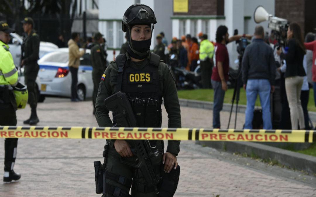 7 قتلى و11 جريحا في انفجار شاحنة صغيرة في كولومبيا