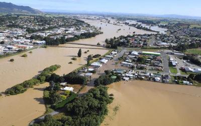 فيضانات في نيوزيلندا تجبر الالاف على إخلاء منازلهم