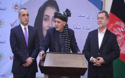 انفجاران في كابول تزامنا مع مراسم تنصيب الخصمين غني وعبدالله