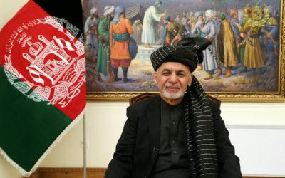 أشرف غني ادى اليمين رئيسا لأفغانستان