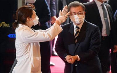 كورونا يجبر رئيس كوريا الجنوبية على إلغاء جولة إلى الإمارات ومصر وتركيا