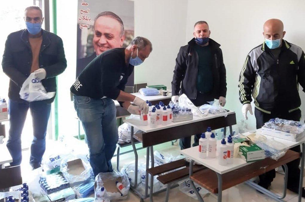 مفوضية الإقليم في حزب التوحيد العربي تطلق مبادرتها في مواجهة كورونا