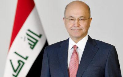 الرئيس العراقي: لعدم الاستخفاف بعودة الارهاب ويجب مواصلة التعاون الدولي لمكافحته