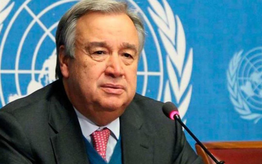 الأمين العام للأمم المتحدة: نحن في حرب ضد كوفيد19
