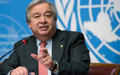 غوتيريش: معالجة كوفيد 19 يجب أن تتصدر جدول الأعمال العالمي وقمة مجموعة العشرين