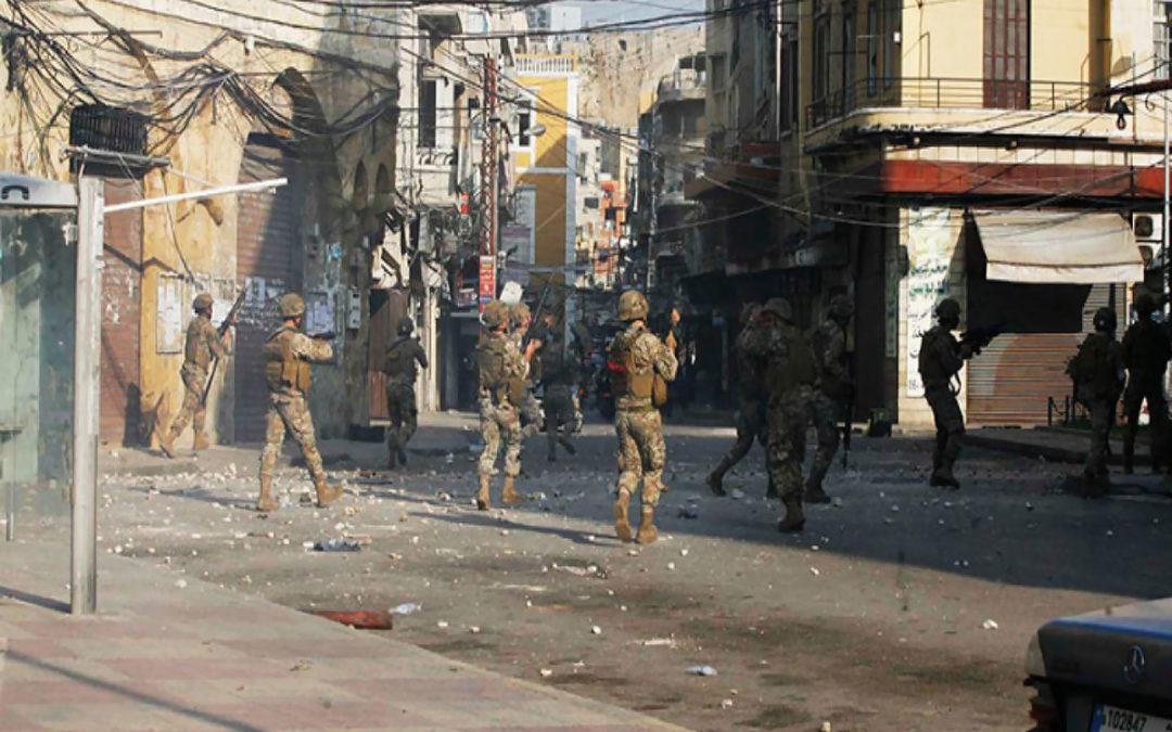 42 جريحا حصيلة نهائية لإشكالات طرابلس ليلا