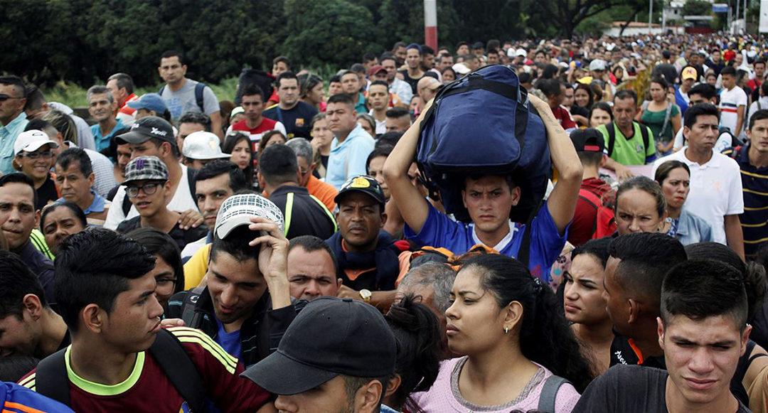مئات المهاجرين الفنزويليين في كولومبيا يعودون مع تفشي كوفيد19