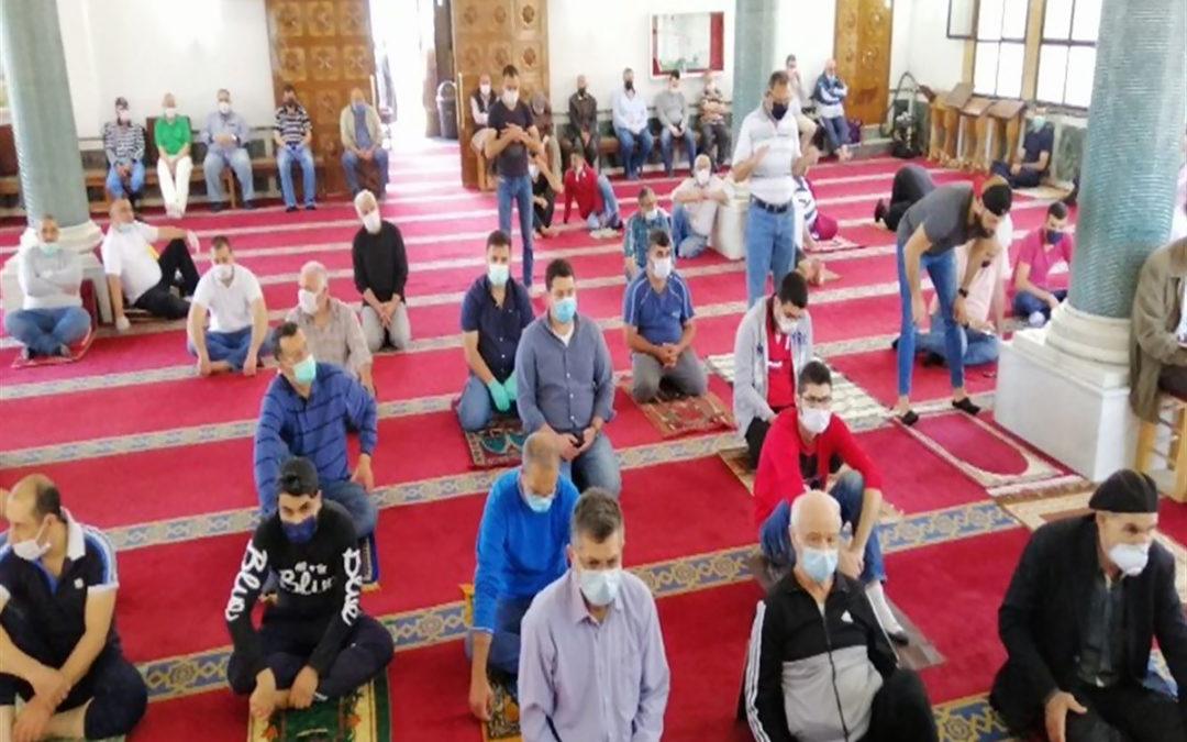 إعادة فتح المساجد بدءا من 22 أيار مع التزام الاجراءات الوقائية
