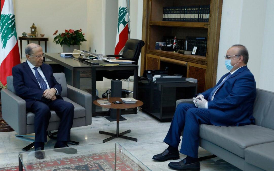 وهاب بحث مع الرئيس عون مواضيع عدة تهم منطقة الجبل وقدّم له المعلومات المتوافرة لديه حول ملف الكهرباء