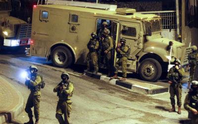 جيش العدو الإسرائيلي يقتحم عدة مدن في الضفة الغربية