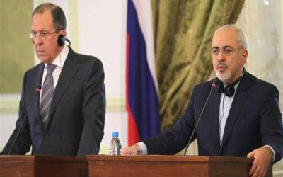 لافروف: محاولات واشنطن تمديد حظر الأسلحة المفروض على إيران غير قانونية وليس لها آفاق