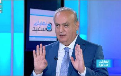 """وهاب لقناة الـ """"LBCI"""": ملف سوناطراك تحرك سياسياً وليس بسبب الفساد وهناك خبيث ما حاول جر التحرك المطلبي أمس الى مكان آخر"""