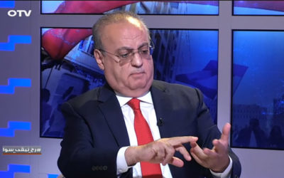 وهاب لقناة الـ OTV: عجز الدولة وصل في الأشهر الـ 5 الأولى من السنة لـ 4000 مليار ليرة والحكومة فشلت في أدائها واستنفذت الفرصة