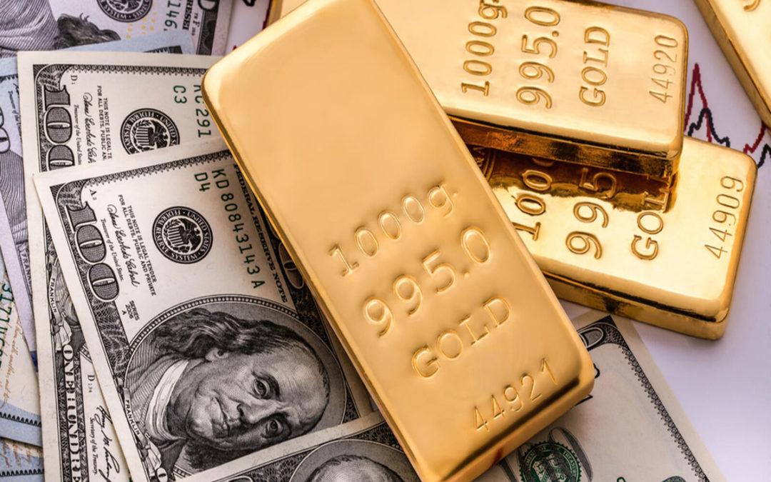 أونصة الذهب فوق 1800 دولار