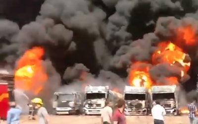 السلطات الإيرانية: مقتل شخصين وجرح 10 بانفجار بمدينة سلجكان الصناعية بمدينة قم