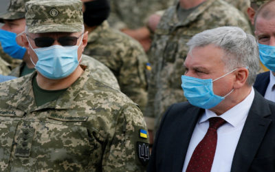 أوكرانيا تجري تدريبات عسكرية بالتزامن مع مناورات روسية