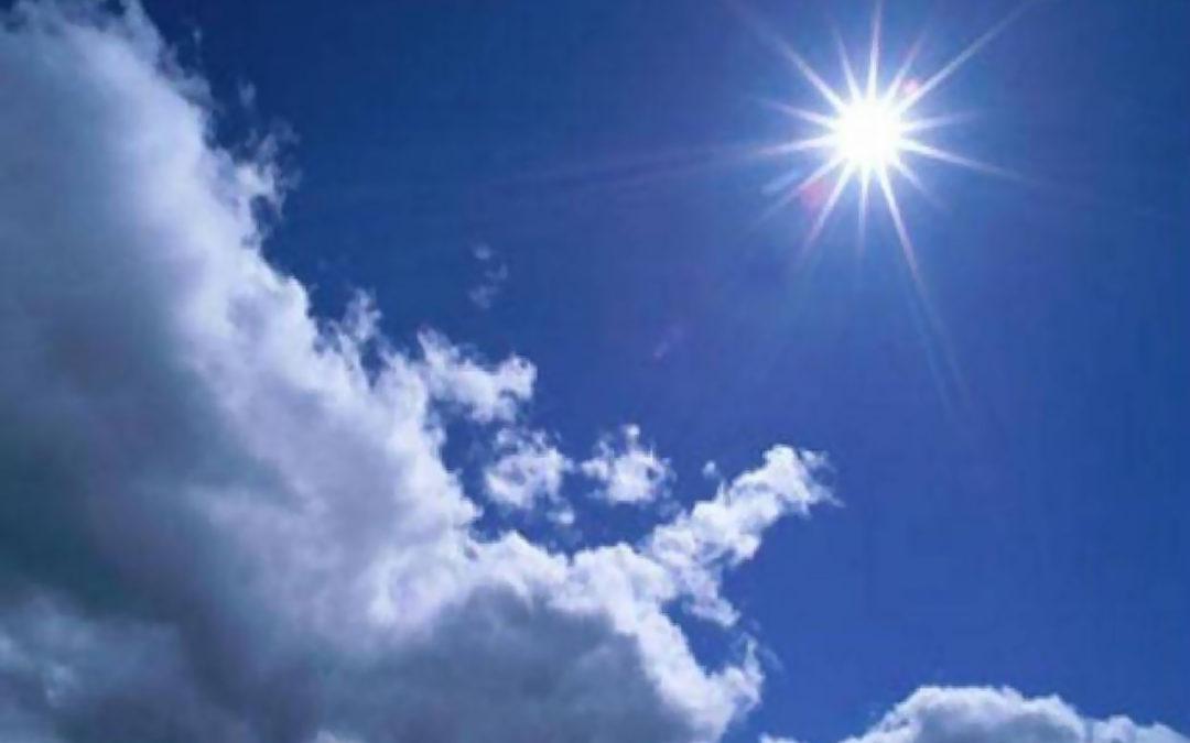 الطقس غدا الاربعاء قليل الغيوم والحرارة تلامس معدلاتها الموسمية