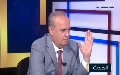 """وهاب لقناة """"الجديد"""": عقدة الحريري في الرياض وذياب استقال من مهامه"""