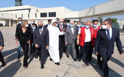 الشامسي من المطار: لقاءات مع جمعيات المجتمع المدني لوضع خطة للمرحلة المقبلة