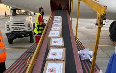 لليوم التاسع على التوالي تواصل وصول المساعدات الدولية الى لبنان عبر الجسر الجوي