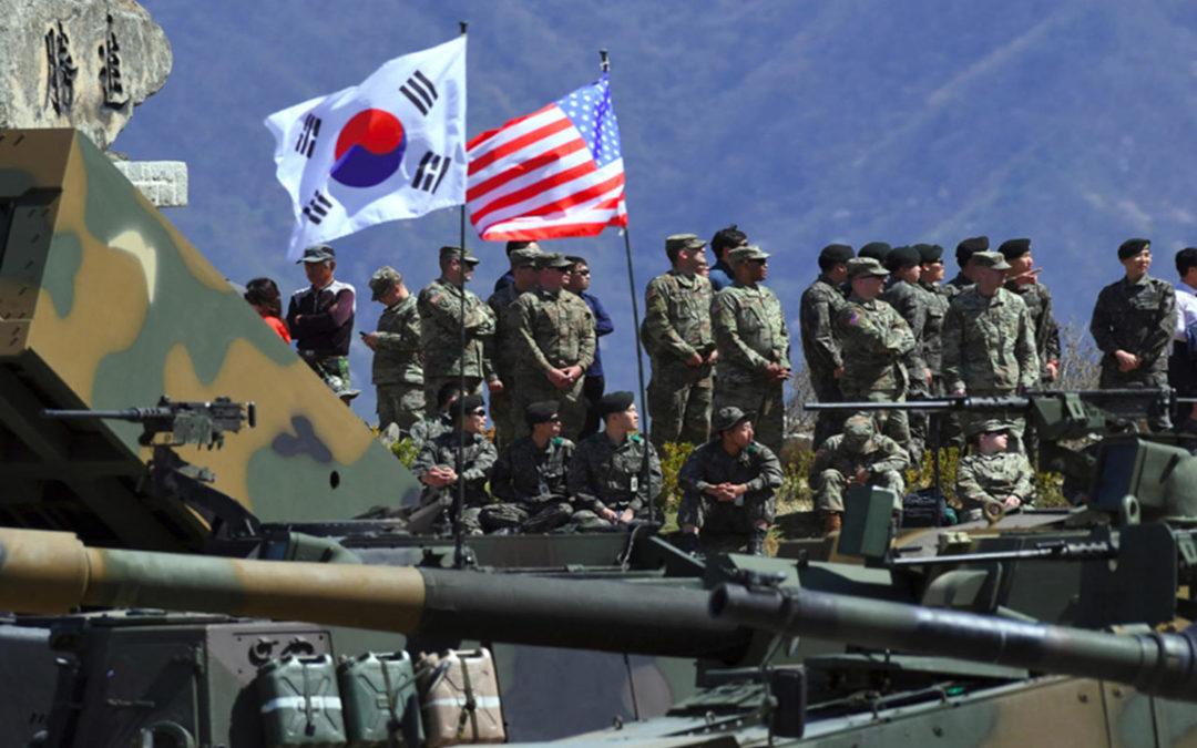 بدء مناورات عسكرية مشتركة بين الولايات المتحدة وكوريا الجنوبية