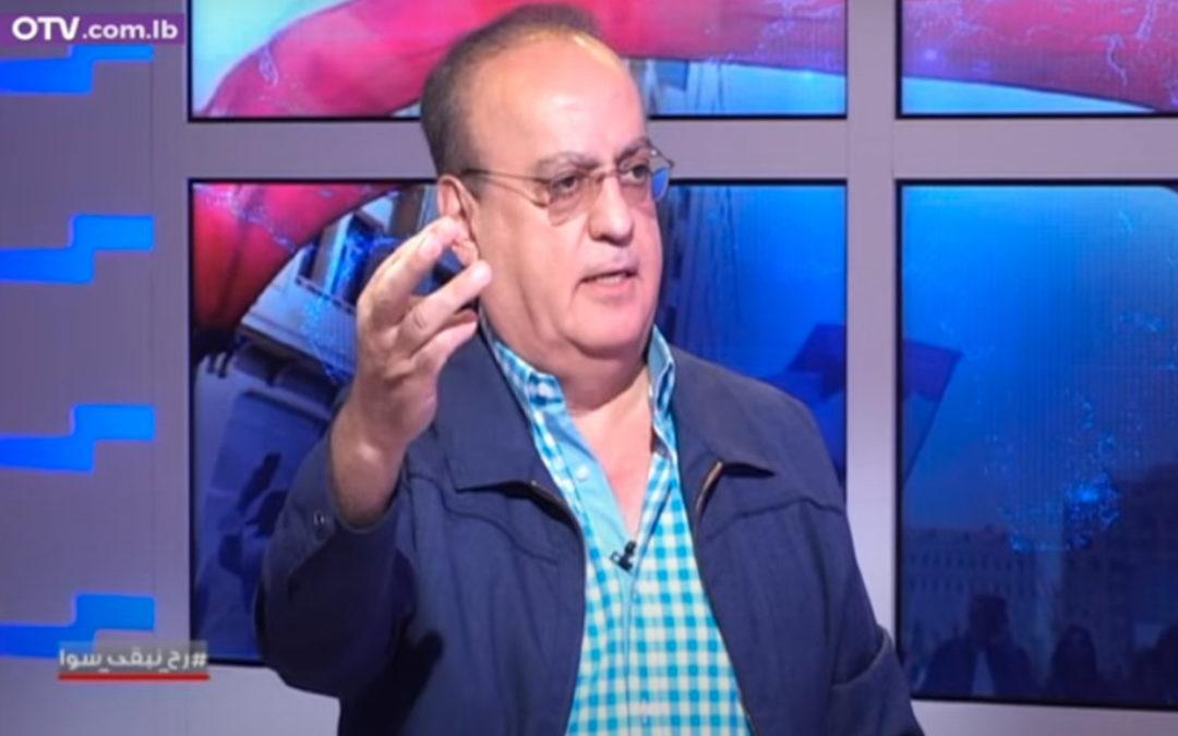 """وهاب لقناة الـ """"أو.تي.في"""": فلسطين اليوم أعادت الصراع الى حقيقته والى أرضه"""