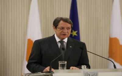 الرئيس القبرصي: نعاني من احتلال تركي جديد