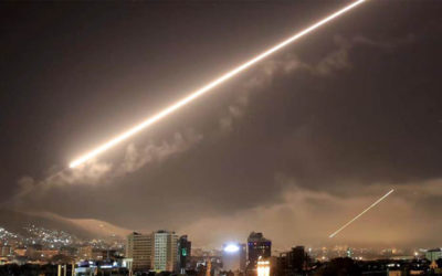 الاحتلال الاسرائيلي يقصف أهدافًا بغزة والمقاومة الفلسطينية ترد برشقات صاروخية