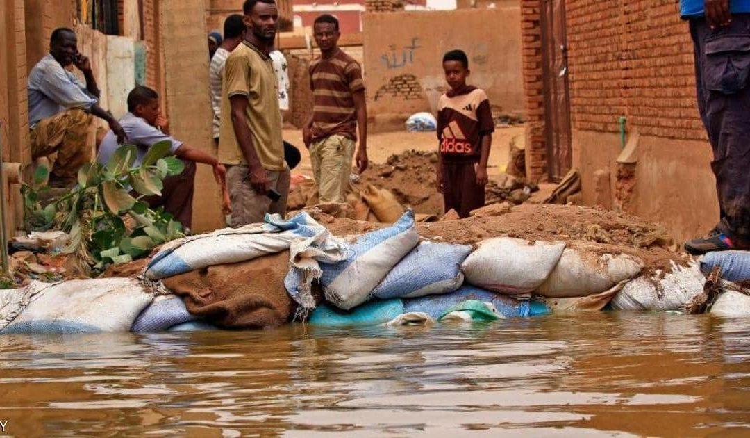 """""""أوشا"""": أكثر من نصف مليون سوداني و111 ألف منزل تضرروا من الفيضانات"""