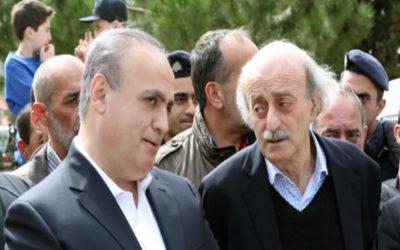 أمانة الإعلام: وهاب اتصل بجنبلاط..وتأكيد على إطلاق يد الجيش وعلى أن أمن الجبل وأهله خط أحمر