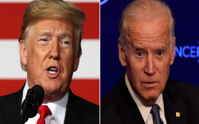 اتهامات متبادلة بين ترامب وبايدن في مناظرتهما الأخيرة