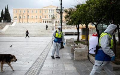 اليونان… الى الإغلاق العام لـ3 أسابيع