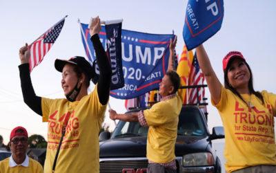 ترامب يتقدم في 6 ولايات من أصل 7 لم تحسم فيها الأصوات بعد
