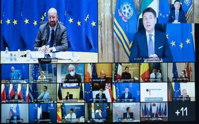 قمة اوروبية للخروج بموقف موحد حول متحورات فيروس كورونا