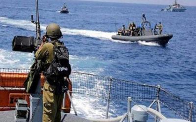 الجيش: زورق حربي للعدو يخرق مياه رأس الناقورة ويلقي قنبلة صوتية