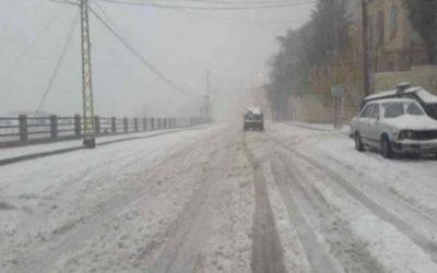 كيف هي حالة الطرقات في عدد من المناطق اللبنانية صباح اليوم