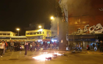 مصادر الـLBCI: الجيش أوقف 5 أشخاص شاركوا بأعمال الشغب في بلدية طرابلس أمس