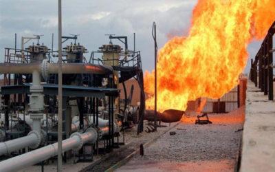 انفجار في خط أنابيب نقل الغاز في مقاطعة أورينبورغ الروسية