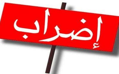 موظفو الإدارة العامة: الإضراب من الاربعاء لغاية 9 تموز ضمنا حتى تحقيق المطالب