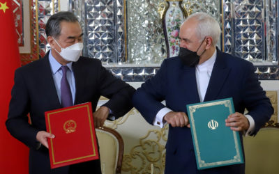 الإتفاق الإيراني الصيني يرسم معادلة جديدة ونفوذ الصين الى تعاظم – ليديا أبودرغم – خاص الموقع