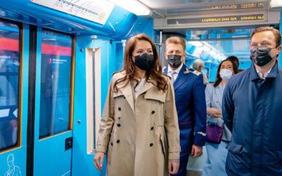 إطلاق قطار مكرس للأطباء في مترو الأنفاق بموسكو