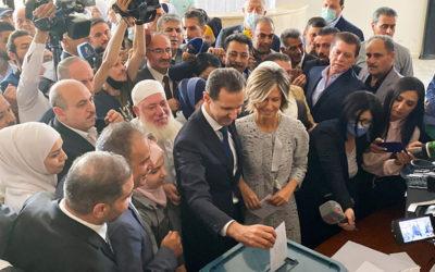 الأسد عقب الإدلاء بصوته في دوما: تصريحات الغرب عن الانتخابات السورية لا تساوي شيئا