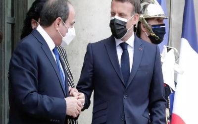 الرئيس الفرنسي ونظيره المصري يجريان مباحثات مع ملك الأردن عن الاوضاع في الاراضي الفلسطينية المحتلة